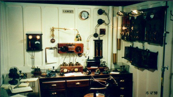 Marconi Set up In Titanic – 2