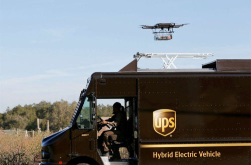 UPS to Offer Unlimited Commercial Drone Delivery