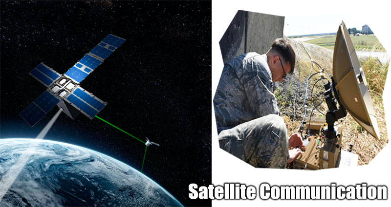 Satellite Communication Components for Communication Satellites